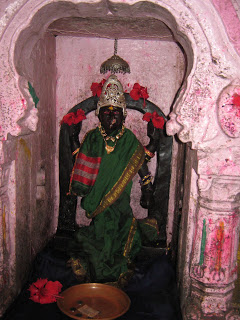 Idol of Godavari at Brahmagiri, her origin. Photo from: http://dharmanlife.blogspot.in/