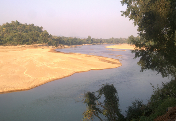 The Koel RIver Photo from : Wikipedia