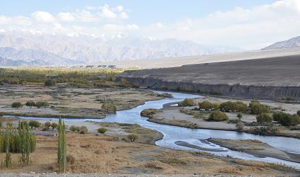 Leh_Indus river