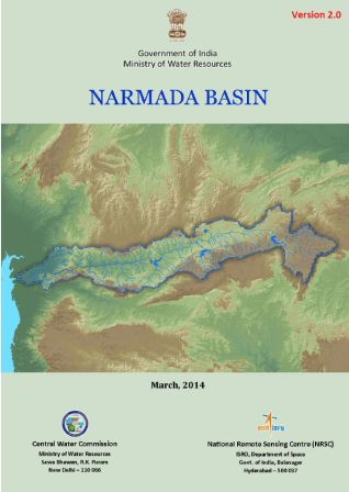 Narmada Basin Report Cover Page (Source: WRIS)