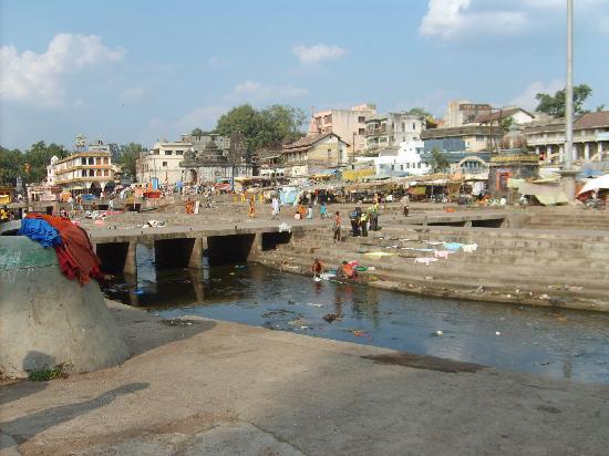 Godavari polluted at the source in Nashik Photo: Tripadvisor