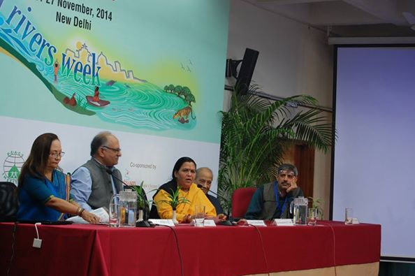 Union Minister Uma Bharti at IRW on Nov 27, 2014