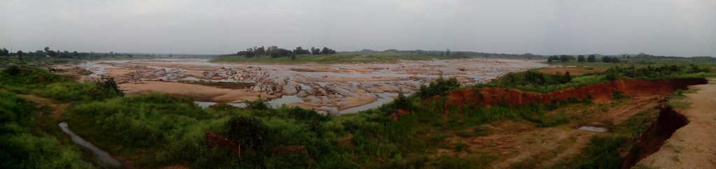 Panoramic photograph of project site Photo by author
