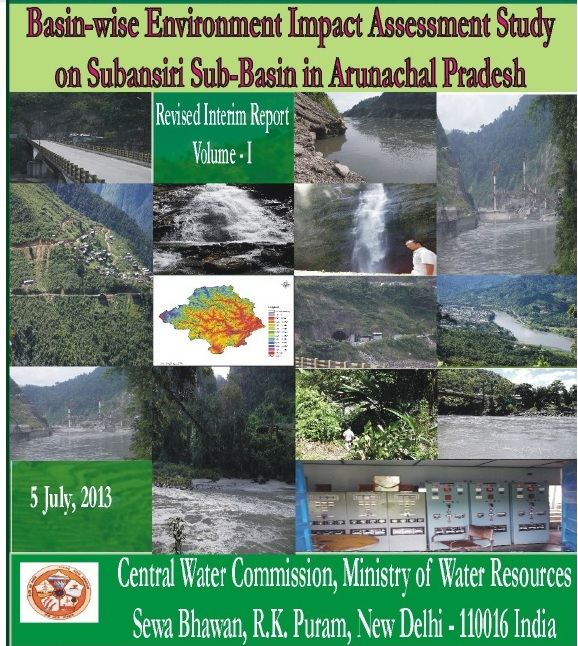 Cover Page of Subansiri Basin Study