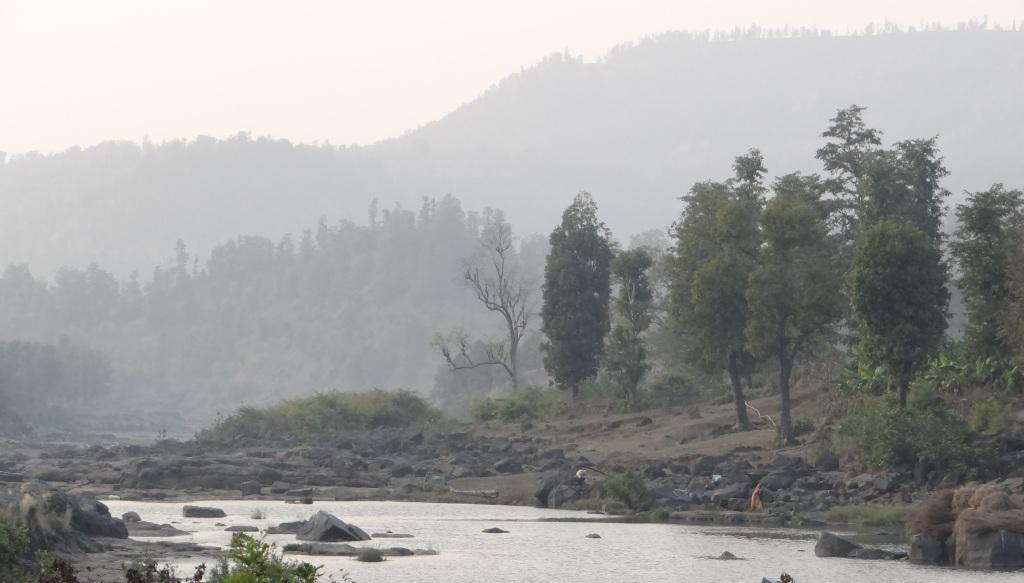 Valley to be submerged by Bhugad Dam, part of Damanganga Pinjal Link Photo: Parineeta Dandekar