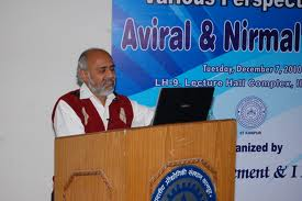 Dr Vinod Tare, who leads the IIT Consortium work on Ganga River Basin Management Plan
