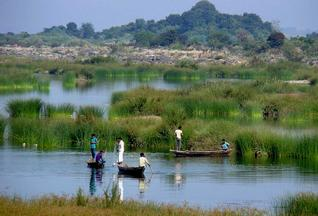 Fishing near the propose dam site source: The Hindu