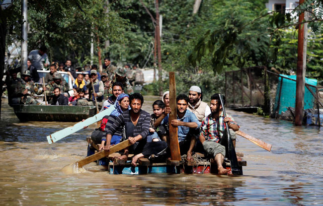 Jammu Kashmir Floods Photo: India Today