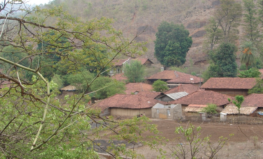 Villages of Par Nar Basin which would be affected by both diversion projects Photo: Parineeta Dandekar