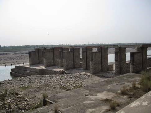 Partial Obstruction at Tajewala Photo from : Dr. Bharat Jhunjhunwala
