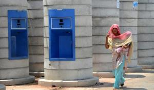 Sawda Ghevra village water kiosk in North West Delhi (Source: The Hindu)
