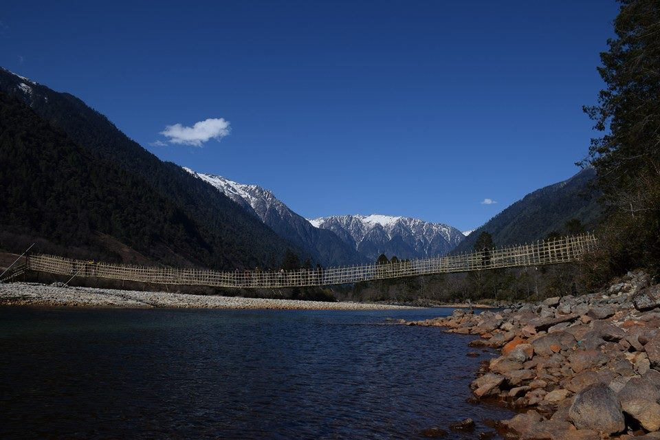 Dibang valley in upper stretches Photo: Rezina Mihu