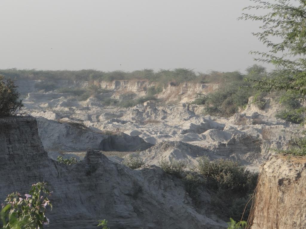 Ash Dumps of Eklahere Thermal Power Plant Nashik Photo: Parineeta Dandekar, SANDRP