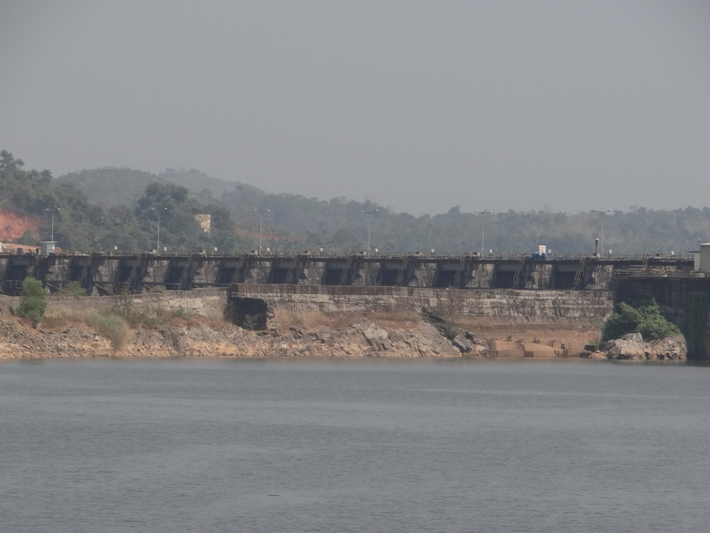 Single Large Dam of Perla and Shemburi MHP in Karnataka Photo: Parineeta Dandekar