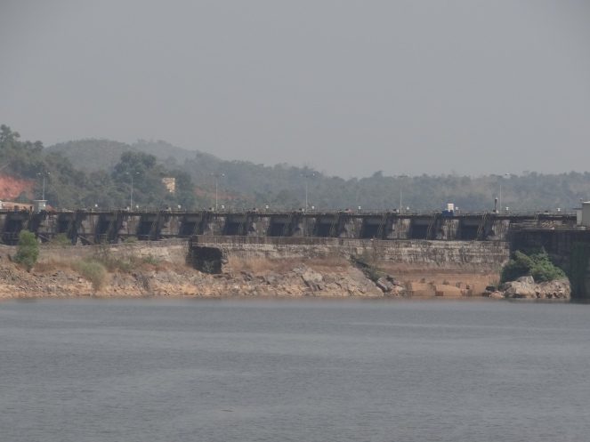 Single Large Dam of Perla and Shemburi MHP in Karnataka Photo: Parineeta Dandekar