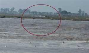 farmers in yamuna flood march 15 dj