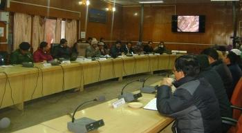 Leh Meeting on Feb 9, 2015 Source: ReachLadakh
