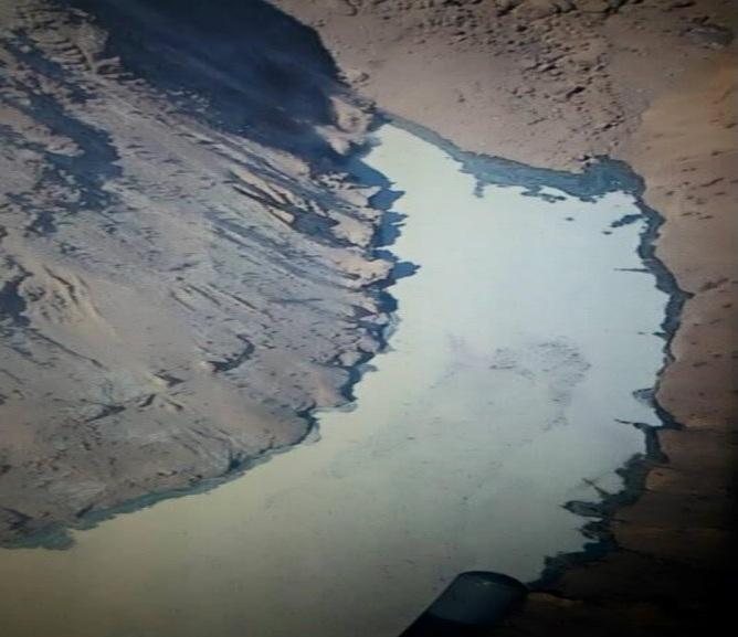 Landslide Dam blocks Zanskar River tributary, threatens Valley (2/5)