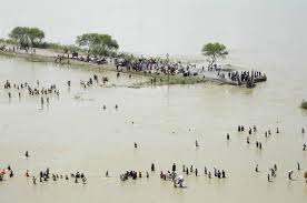 Then and Now. 2008 Kosi Floods, in perspective if the 1948 Floods. Photo: Times of India