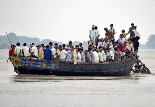 2013 Kosi Floods Photo: India Today