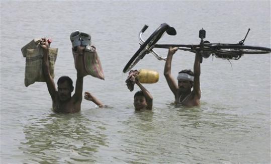 2008 Flood Photo: Bihar Days