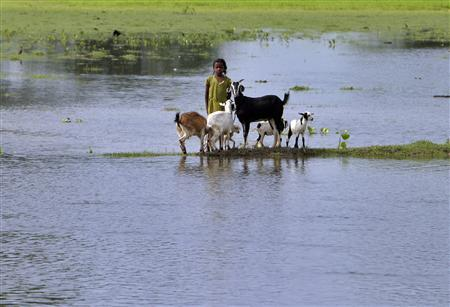 Timeless flood suffering in Kosi. 2008. Photo: Reuters