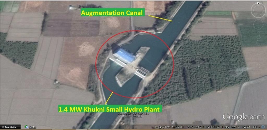 Khukni SHP downstream the breach site