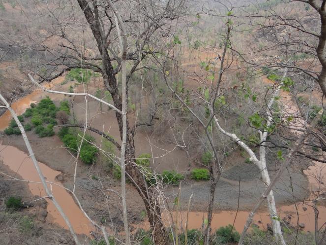 Dry Khadak River