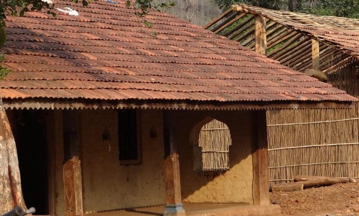 Homes in Jhari village Photo: Parineeta Dandekar