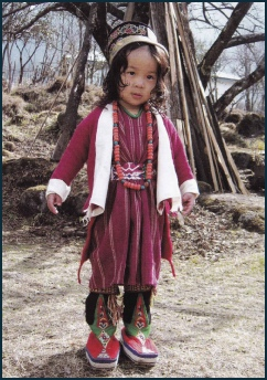 Monpa Child from Tawang Photo: tawang.nic.in