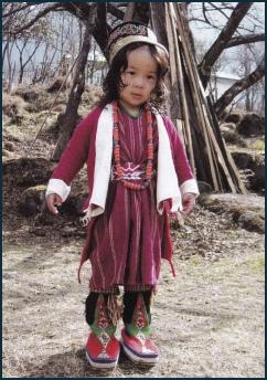 Monpa Child from Tawang Photo: tawang.nic.in