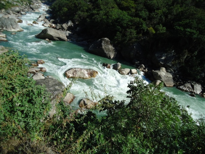 Punatsanghchu River in Bhutan, All Photos by SANDRP