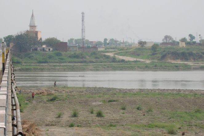 Yamuna River at Sonipat (03 April 2015) [All photos by Shri Manoj Misra]