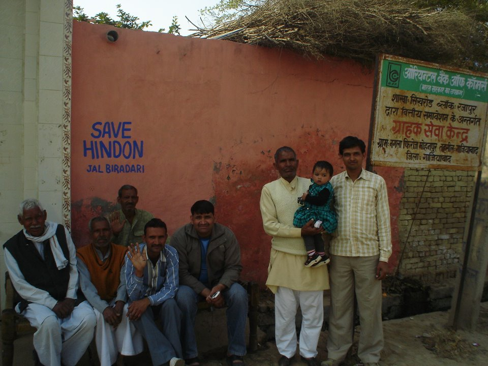Hindon campaign in villages Photo by Vikrant Sharma