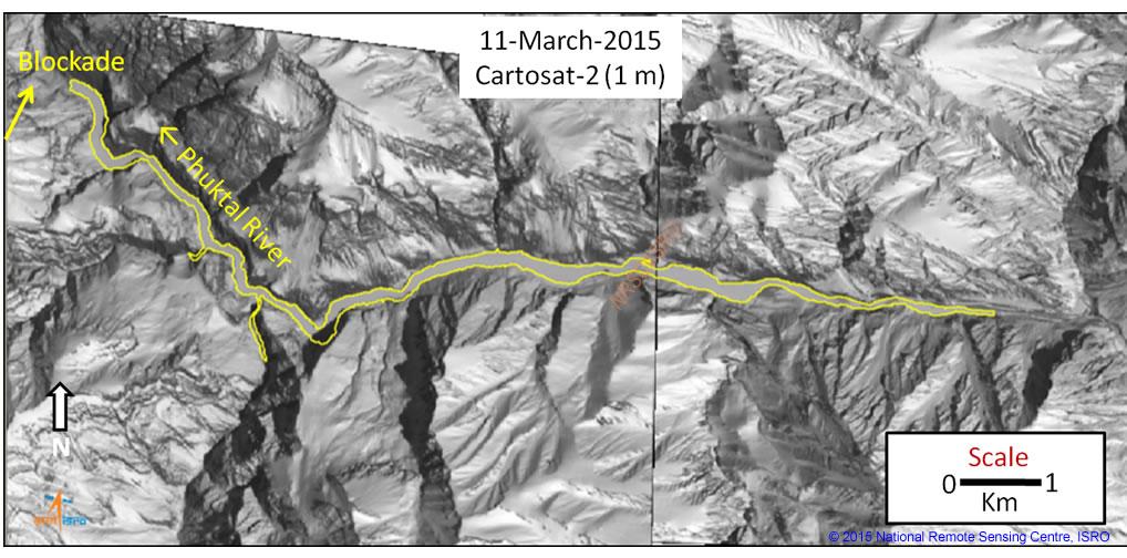 NRSC length of blocked river 110315