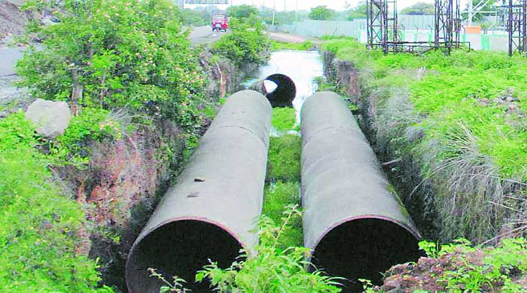 Incomplete JNNURM Project in Pune Photo: Indian Express