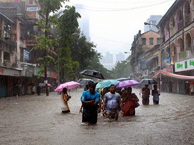June 2015 Mumbai Rains Photo: First Post