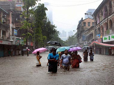June 2015 Mumbai Rains Photo: First Post