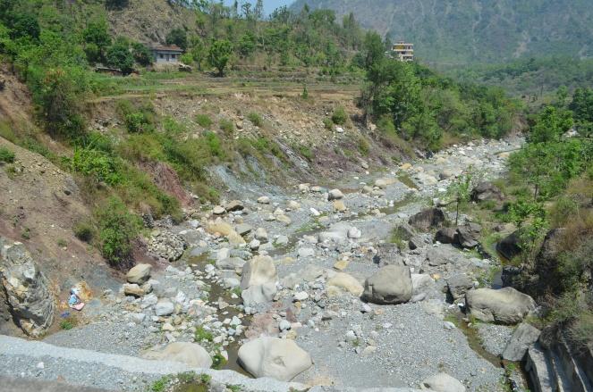 Been Nala (natural stream Katapathar, running almost dry
