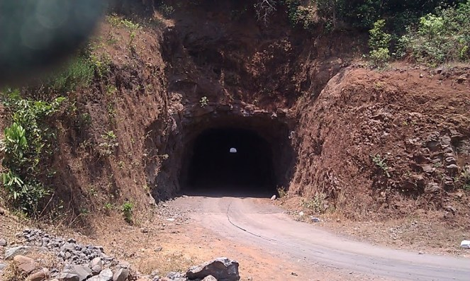 Tunnel For Kumbhe Project, just 10 MW. Photo from Panaramio