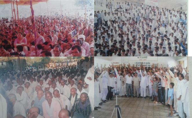 Protest against the project (Photo: Nimn Penganga Dharan Virodhi Sangharsh Samiti)