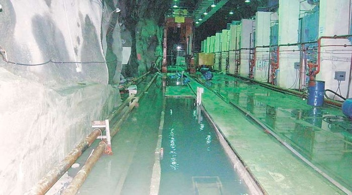 Submerged Power house (Source - Leh Times)