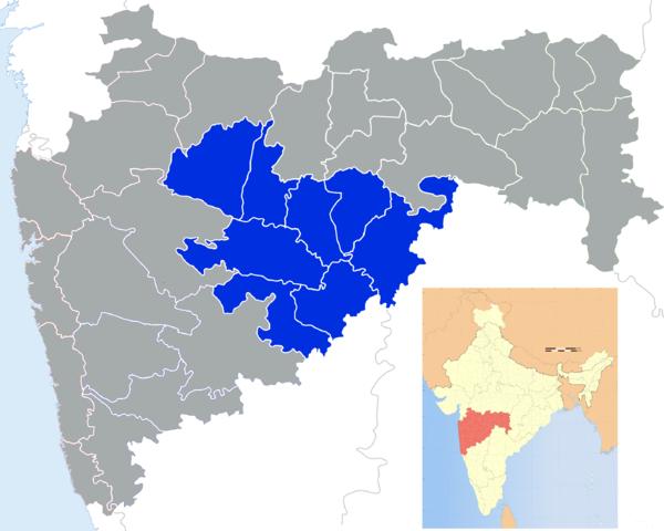 Index Map Marathwada Source: http://www.wikiwand.com/en/Marathwada