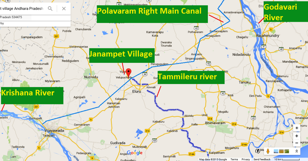Godavari Krishna River Linking:  Are we celebrating an illegal, unnecessary & misconceived water transfer project? (2/2)