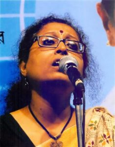 Ms. Rongili Biswas, an exponent-scholar of Bhatiyali