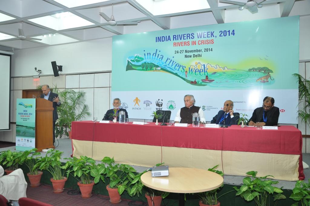 India Rivers Week 2014 inaugural session