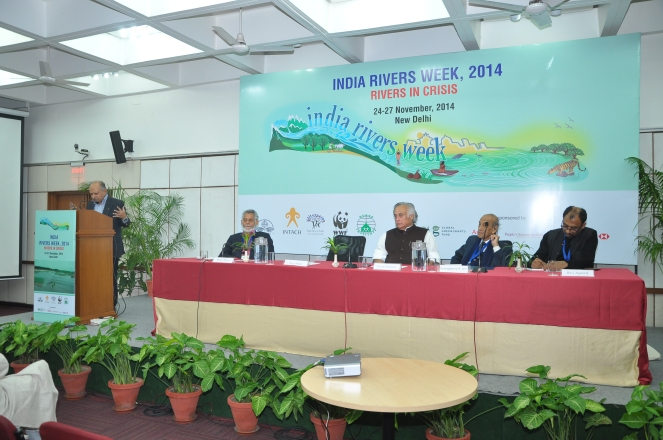 India Rivers Week 2014 inaugural session