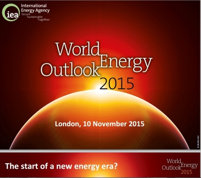 IEA World Energy Outlook cover page