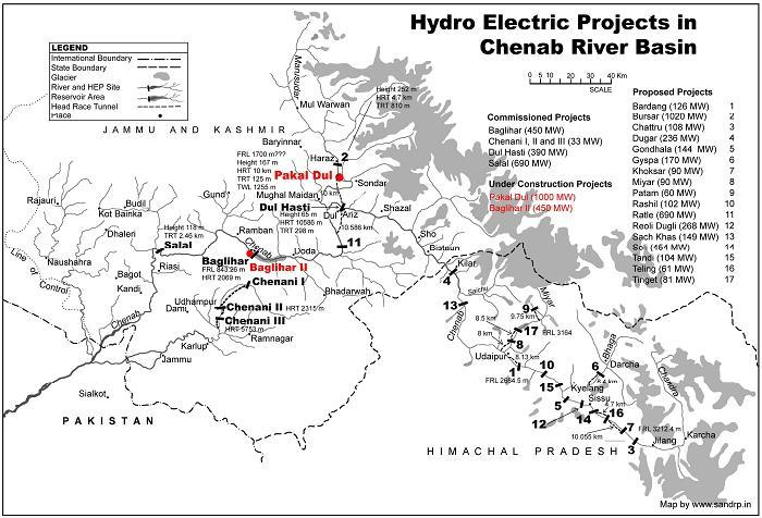 partial-map-of-hydro-electric-projects-on-chenab-river-basin