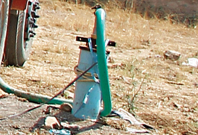 5. Tanker borewell golden sparrow